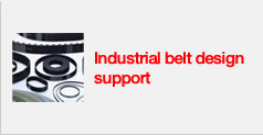 Industrial belt design support