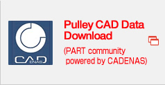 Pulley CAD Data Download (PART community powered by CADENAS)